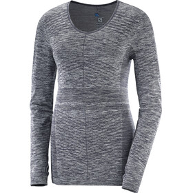 Salomon Elevate Move'On LS Tee Women Graphite
